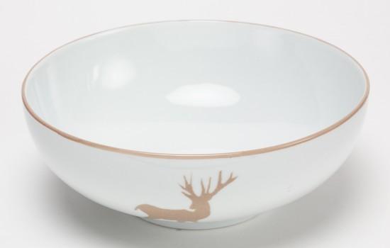 Chasse-Saladier-Cerf-Beige---Beige-Hunting-Dalad-Bowl