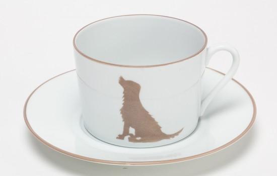 Chasse-Tasse-Petit-Dej-Chien-Beige---Beige-Hunting-Breakfast-Cup