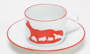 Tasse à thé Chasse
