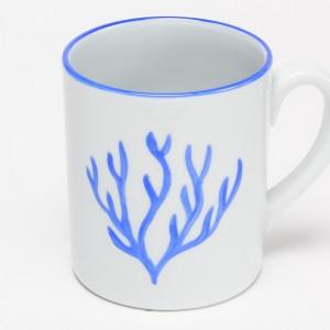Corail Mug Bleu - Blue Coral mug