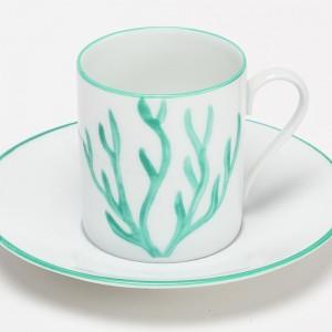 Corail Tasse à Café Vert - Green Coral Coffee Cup
