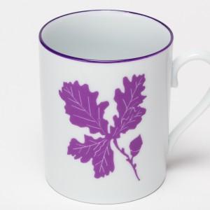 Feuilles Mug Chêne Violet - Purple Oak leaf Tumbler
