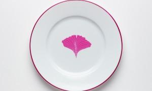 Dessert plate Leaves (21cm)