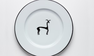 Assiette Gazelle (26cm)