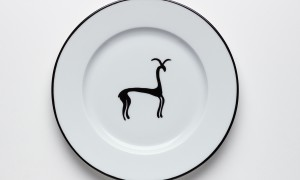 Assiette à dessert Gazelle (21cm)