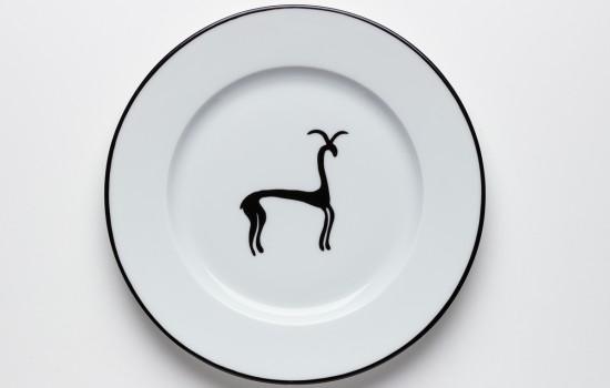 Gazelle Petite Assiette - Dessert Plate