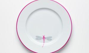 Assiette Libellules (26cm)