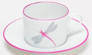 Tasse à thé Libellules