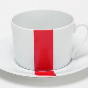 Rouge & Noir Tasse à Petit Dej (2)