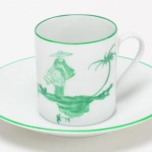 Shanghai Tasse à Café Vert - Green Shanghai Coffee Cup
