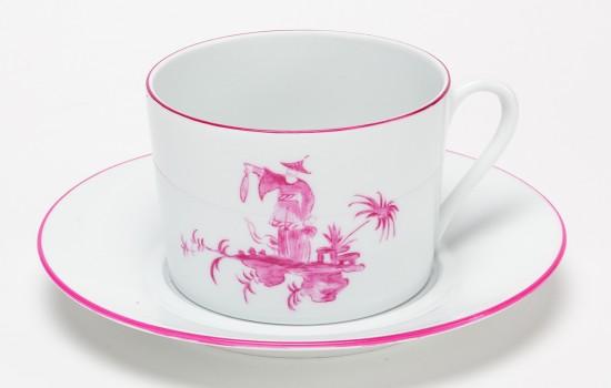 Shanghai Tasse à Petit Dej Rose - Pink Shanghai Breakfast Cup