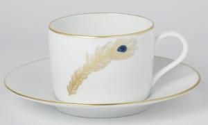 Tasse à thé Plume de Paon