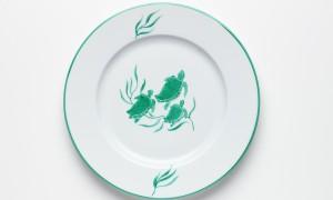Dessert plate Turtles (21cm)