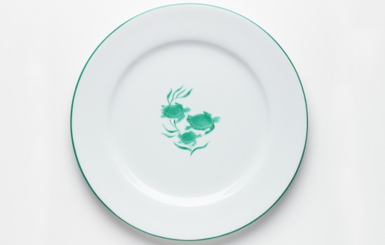 Tortues Plat - Turtle Round Plate