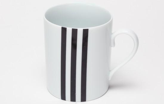 Turquoise & Noir Mug - Turquoise & Black Mug