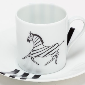 Zèbre Tasse à Café - Zebra Coffee Cup