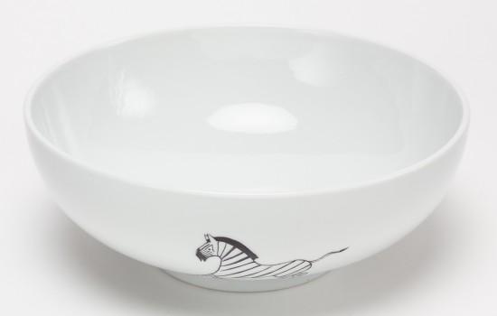 Zèbre Saladier - Zebra Salad Bowl