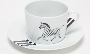 Tea cup Zebra