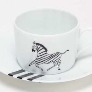 Zèbre Tasse à Petit Dej - Zebra  Breakfast Cup